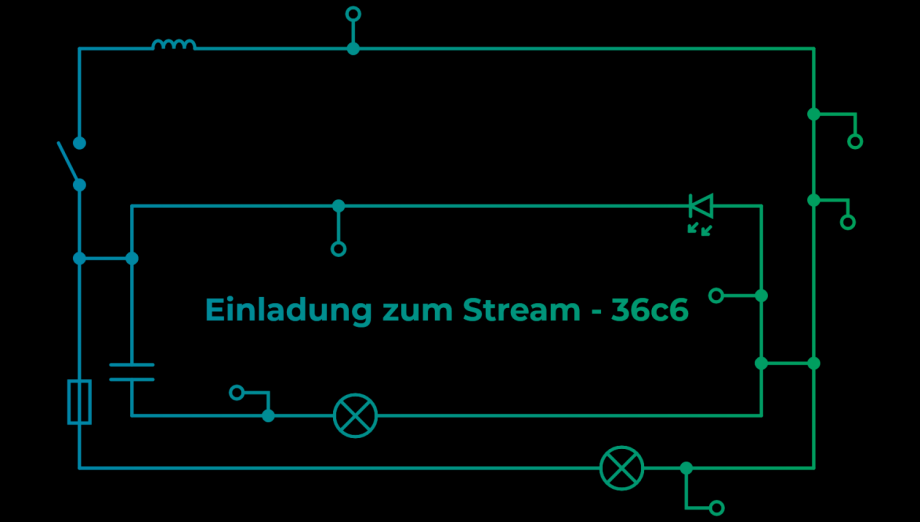Einladung zum Stream: Chaos Communication Congress – 36c3