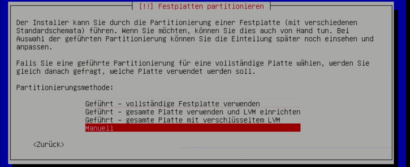 Debian 10 Installations Video