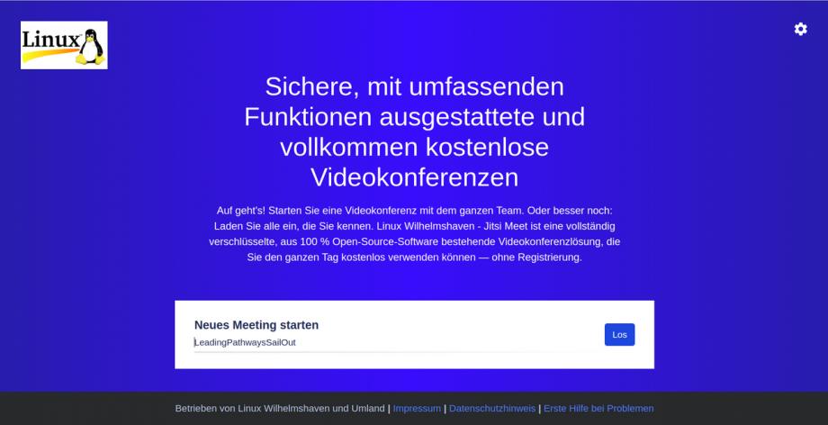 Kurzanleitung: Jitsi Meet Videokonferenz per Browser oder App